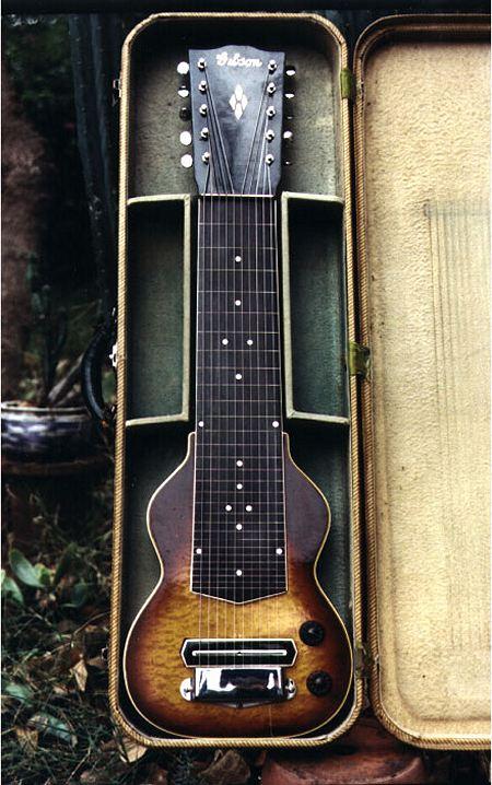beautiful gibson eh 275 on ebay the steel guitar forum. Black Bedroom Furniture Sets. Home Design Ideas